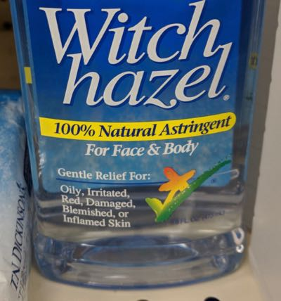 Pro Equine Grooms - Witch Hazel for Horses - Use With Caution