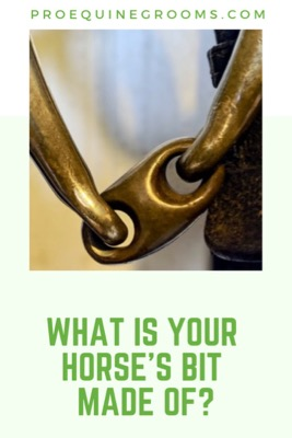 Pro Equine Grooms - The Different Materials of Horse Bits